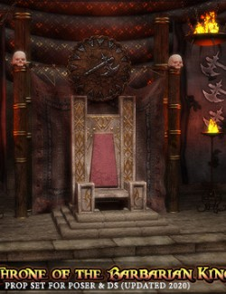The Throne of the Barbarian King