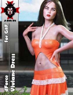 JMR dForce Viviane Dress for G8F