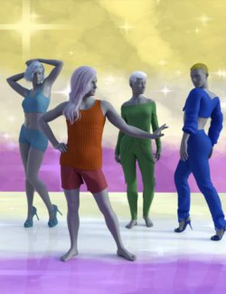 Non-Binary Feminine Poses for Genesis 8