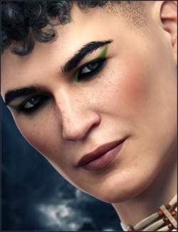 Everyday Makeup for Genesis 8 Males