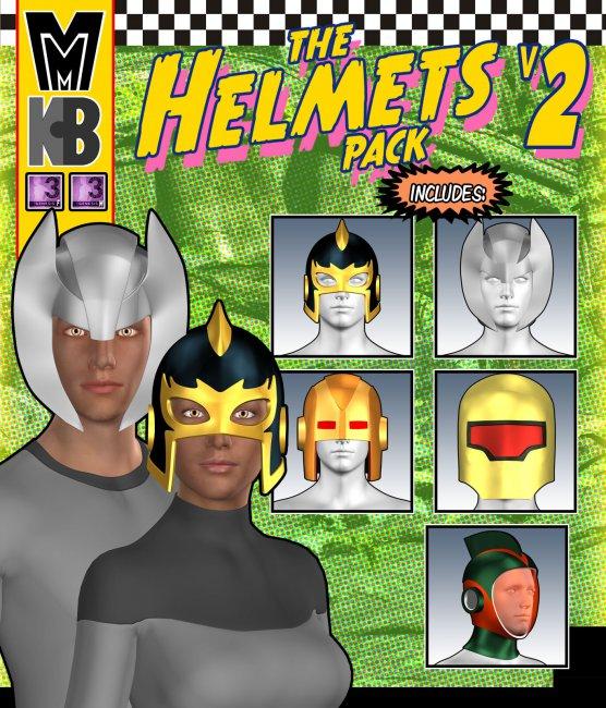 Helmets v002 MMKBG3