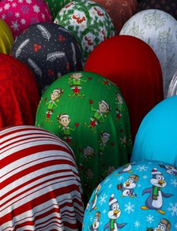 Christmas Cotton Fabric Iray Shaders