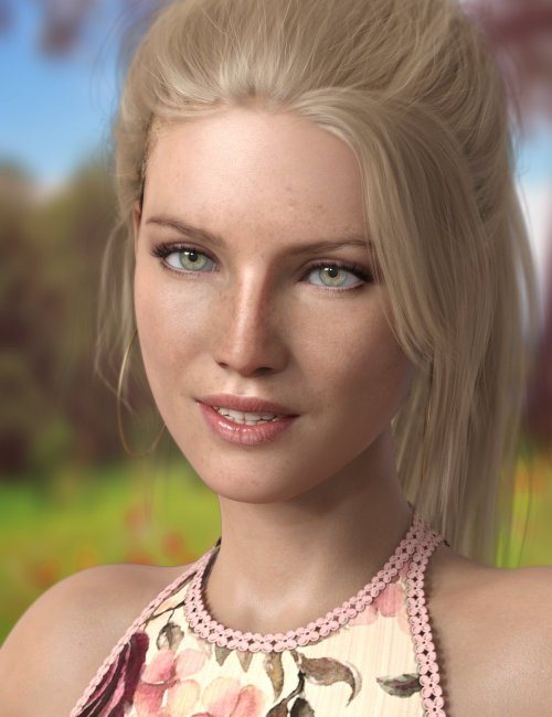 P3D Sigrid HD for Genesis 8 Female