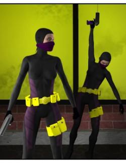 Vigilante Gun: Props and Poses for V4