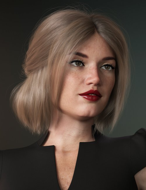 Relaxed Tail Bob for Genesis 3 and 8 Female(s)