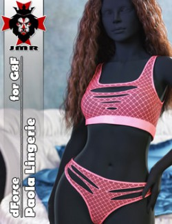 JMR dForce Paola Lingerie for G8F