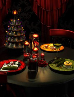 Halloween Fright Table Decor