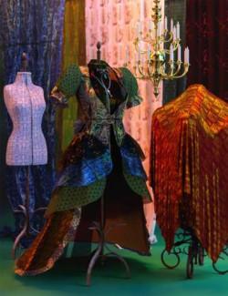 Festive Fabric Iray Shaders