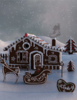 Magical Gingerbread Houses