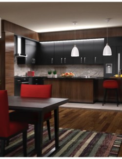 Modern Apartment - Kitchen