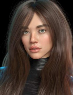 Blue HD for Genesis 8 Female