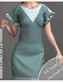 Milena Dress for La Femme