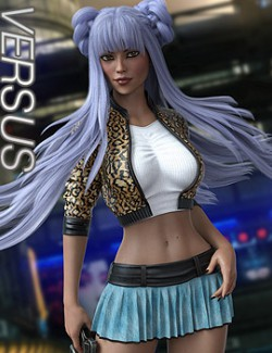 VERSUS - dForce Mood II Outfit for Genesis 8 Females