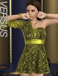 VERSUS - dForce Kristin Dress for Genesis 8 Females