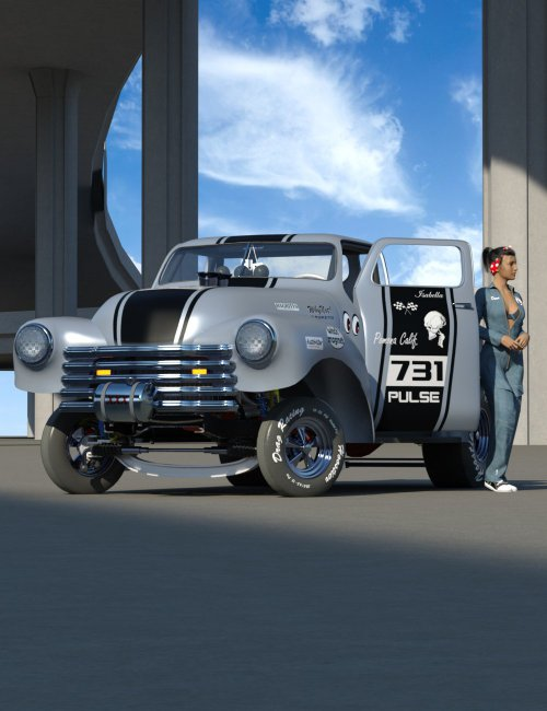 Gasser Muscle Car