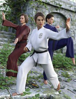 IM Martial Arts Poses for Genesis 8 Female