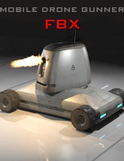 Mobile Drone Gunner FBX - Extended License