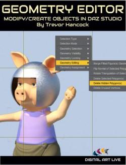 How To Use the DAZ Studio Geometry Editor