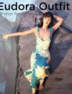 dForce Eudora Outfit for Genesis 8 Female
