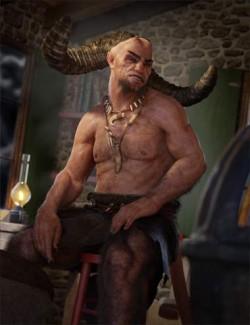 Demon Krampus for Genesis 8 Male