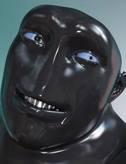 HF Iron Head for Genesis 8 Male