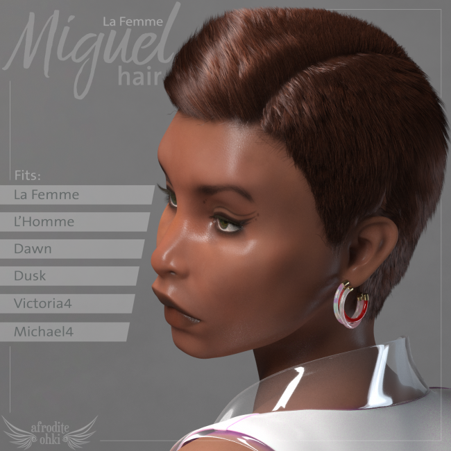 Miguel Hair for La Femme and more