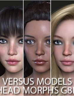 VERSUS MODELS- Head Morphs for G8F Vol 4