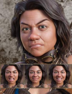 Real Fantasy - Expressions for Genesis 8 Female and Topsy 8
