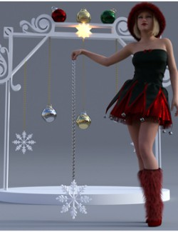 Christmas-Ornaments - Background Props