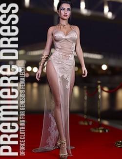 dForce Premiere Dress for Genesis 8 Females