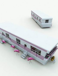 Granny's Trailer for Poser