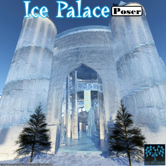 Ice Palace for Poser