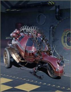 Steampunk Sleigh
