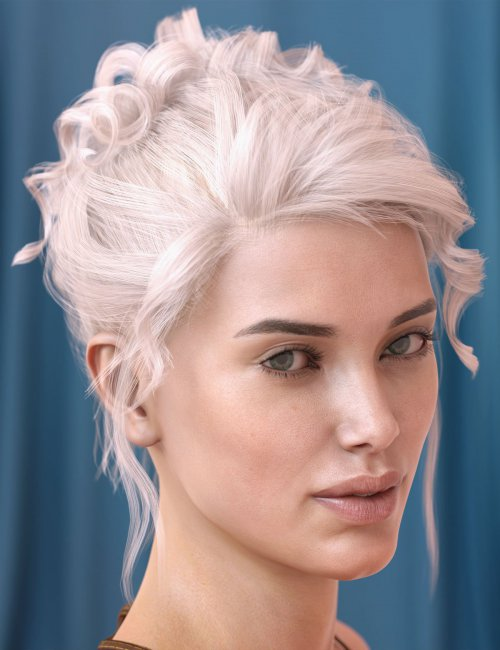 Poppy Hair for Genesis 3 & 8 Females