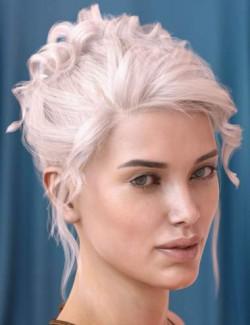 Poppy Hair for Genesis 3 & 8 Females