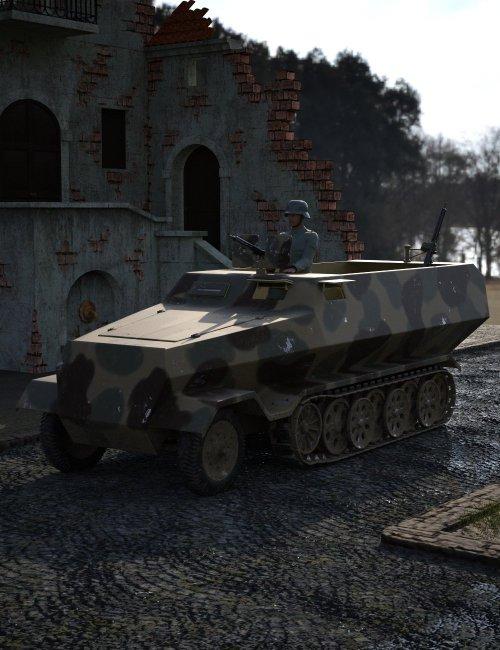 Sd Kfz 251 Halftrack