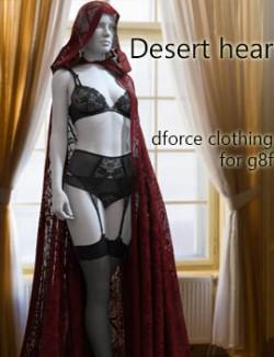 dforce Desert heart clothing for G8F
