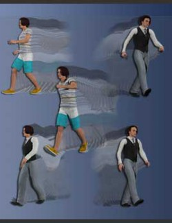 Animated Poses for LaFemme and L'Homme