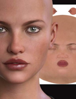 RY Perfectly Imperfect Skin 2 and Merchant Resource for Genesis 8 Female
