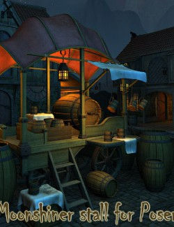 Moonshiner stall for Poser