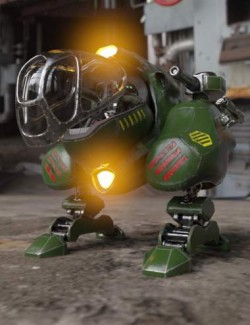 Squat Boy Mechanized Walker Vehicle