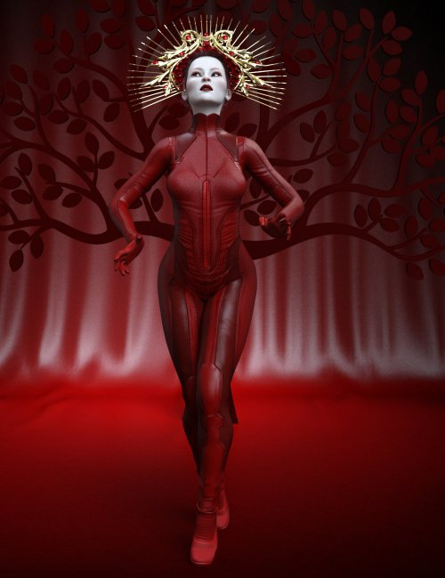Red Queen Poses for Genesis 8 Female