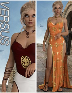 VERSUS - dForce Premiere Dress for Genesis 8 Females