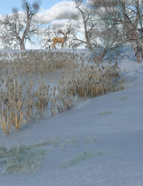 Frosty Plants - Low Res Winter Plants