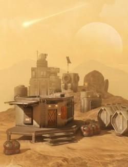 Sci-Fi Settlement Construction Set