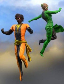 SY Super Suits 2 for Genesis 8