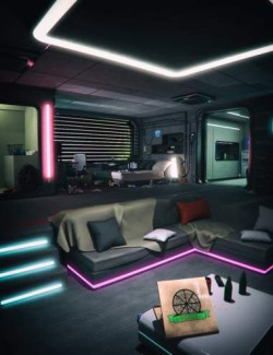 Cyberpunk Apartment