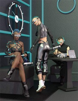 Cyberpunk Gadgets for Genesis 8