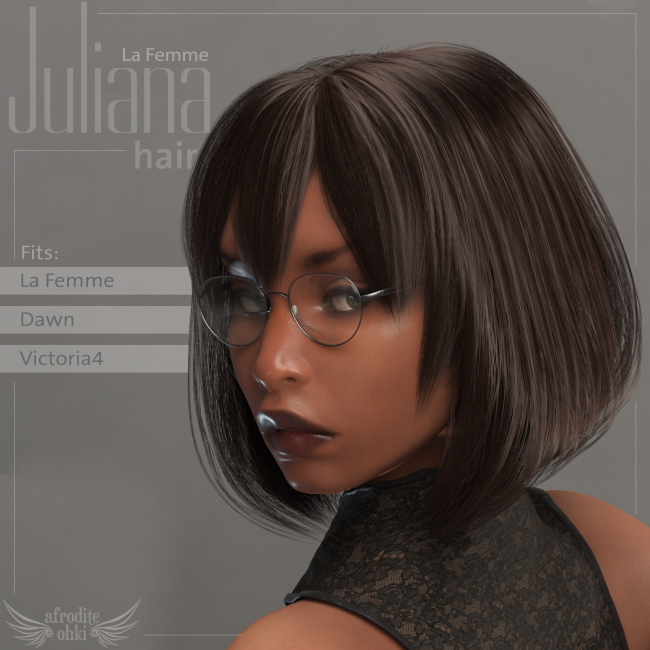 Juliana Hair for La Femme and more