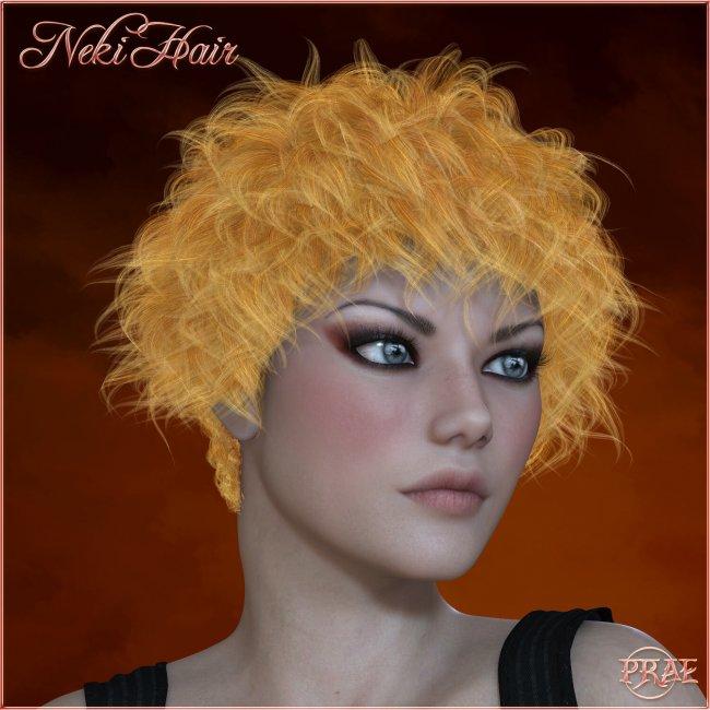 Prae-Neki Hair V4 La Femme Poser